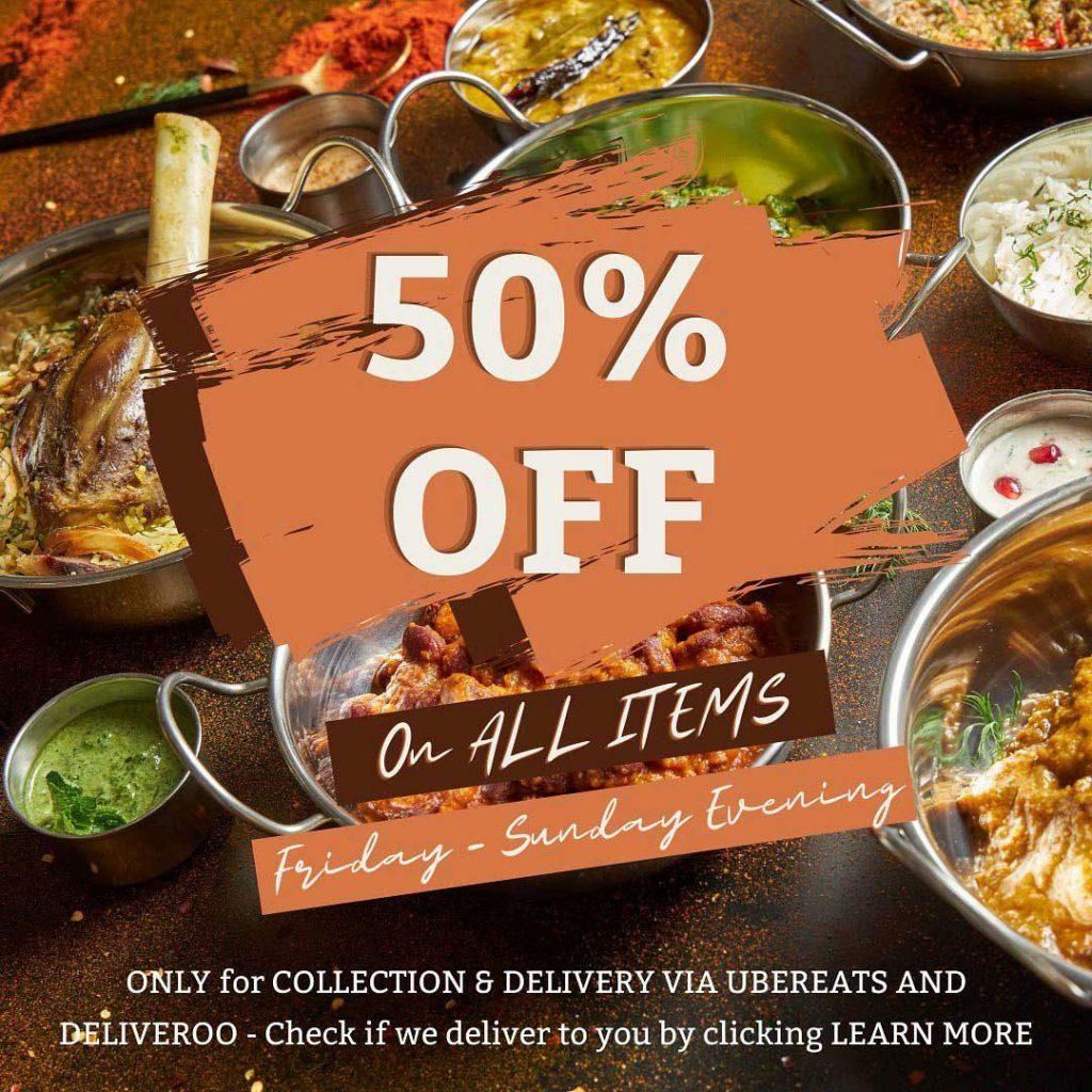 Halal Restaurants London Manchester 50% Discount Dill Desi