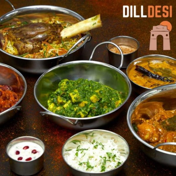 Dill Desi Halal Indian Food Curry Home Delivery
