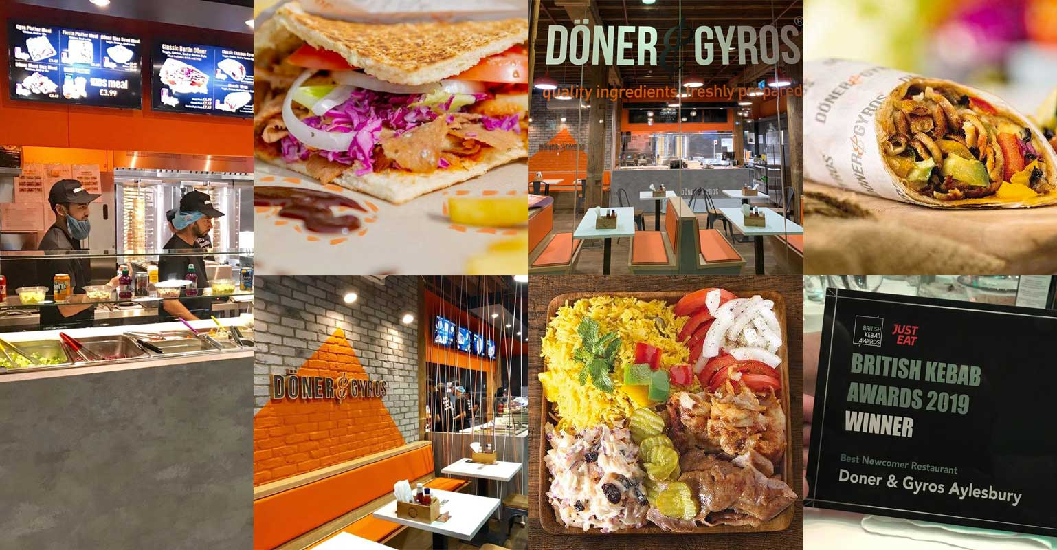 10 Off At The New Doner Gyros Branch In Canary Wharf