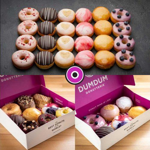 Dum Dum Doughnuts Donuts Halal