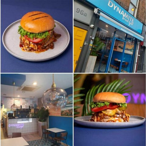 Dynamite Burger Halal Restaurant Stoke Newington London
