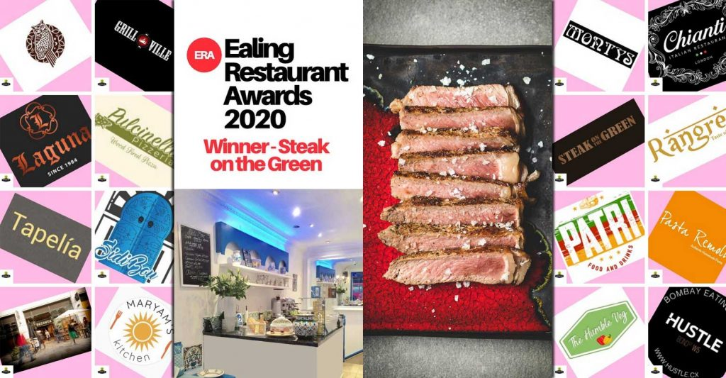 Ealing Restaurant Awards Halal Steak on the Green Sidi Bou