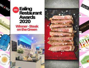 Ealing Restaurant Awards Halal Steak on the Green Sidi Bou