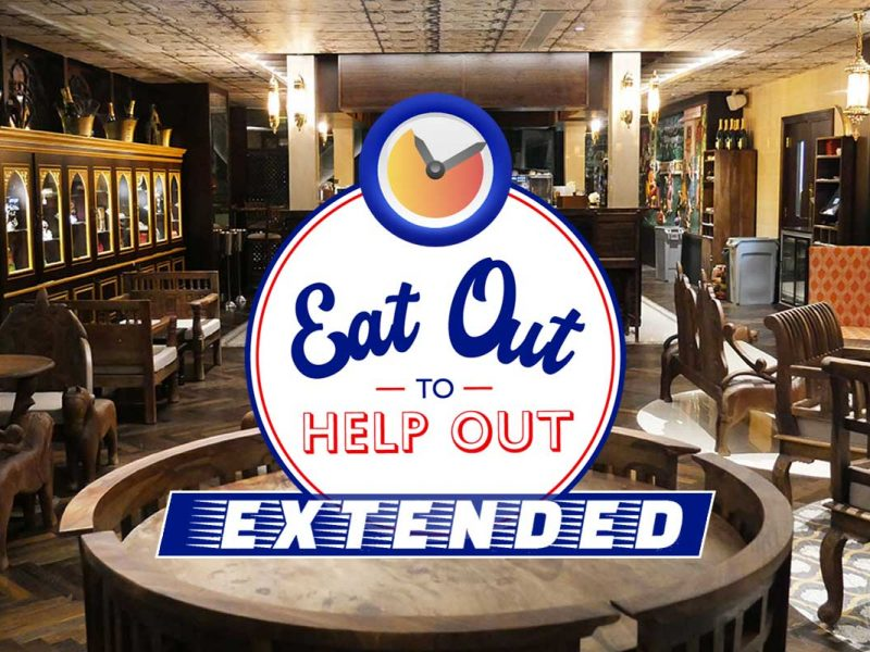 Eat Out To Help Out Extended London