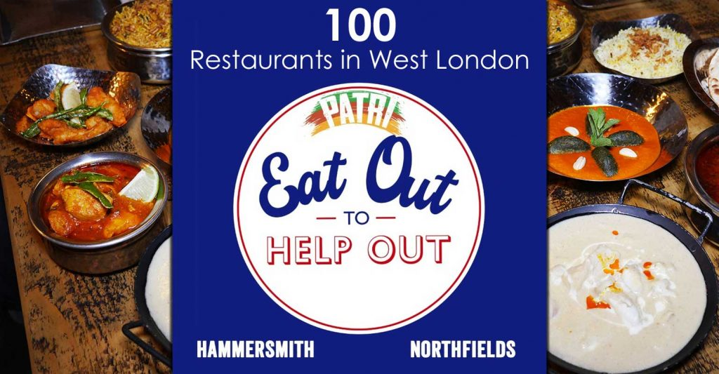 Eat Out To Help Out Patri Indian