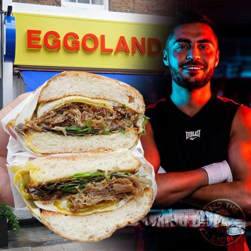 Eggoland by pro-boxer Sohail Ahmad - Fitzrovia, London