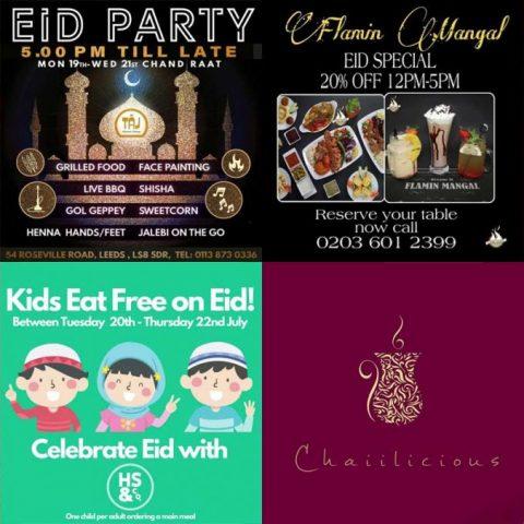 Eid al Adha 2021 Restaurants Halal London