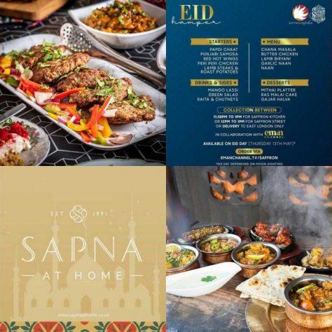 Eid Hampers Restaurants Halal London Indian Food