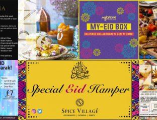 Eid Hampers Menus Restaurants London