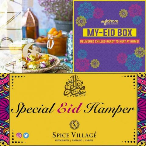 Eid Hampers Menus Restaurants London