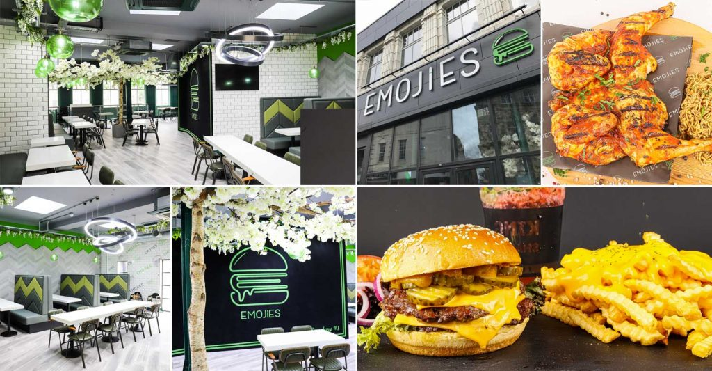 Emojies Burgers Halal Restaurant Dewsbury West Yorkshire
