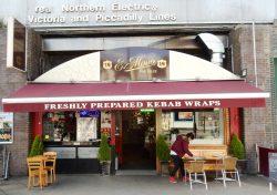 E Mono Wrap Giles Coren Camden Holloway Finsbury London