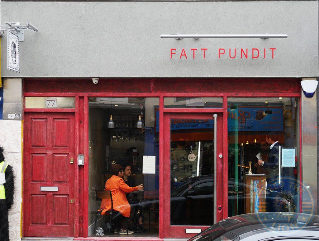 Fatt Pundit Indian Halal restaurant Soho London
