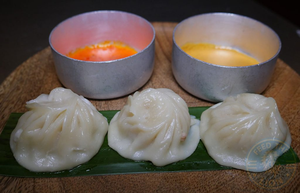 Beef Momo Fatt Pundit Indian Halal restaurant Soho London