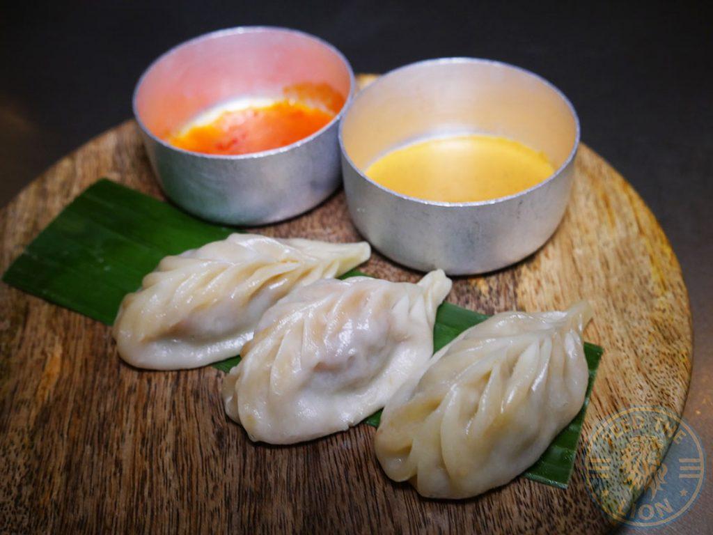 Chicken Momo Fatt Pundit Indian Halal restaurant Soho London