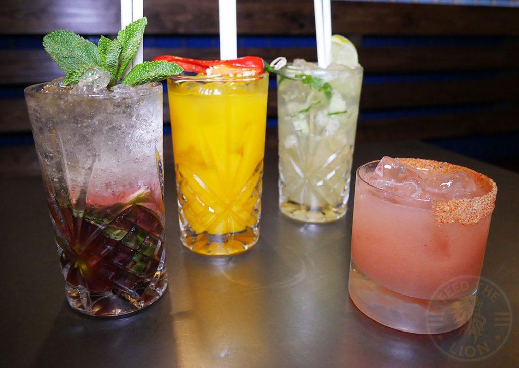 drinks beverages mocktails cocktails Fatt Pundit Indian Halal restaurant Soho London