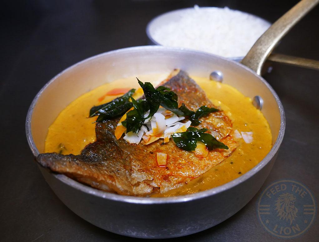 Seafood Bream Fatt Pundit Indian Halal restaurant Soho London
