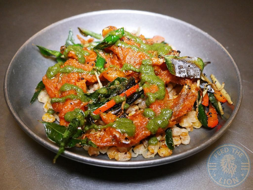 Seafood Crab Fatt Pundit Indian Halal restaurant Soho London