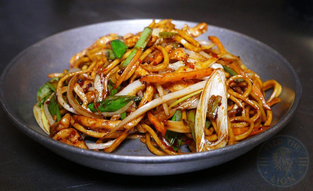 Noodles Fatt Pundit Indian Halal restaurant Soho London