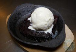 Desserts Brownie Fatt Pundit Indian Halal restaurant Soho London