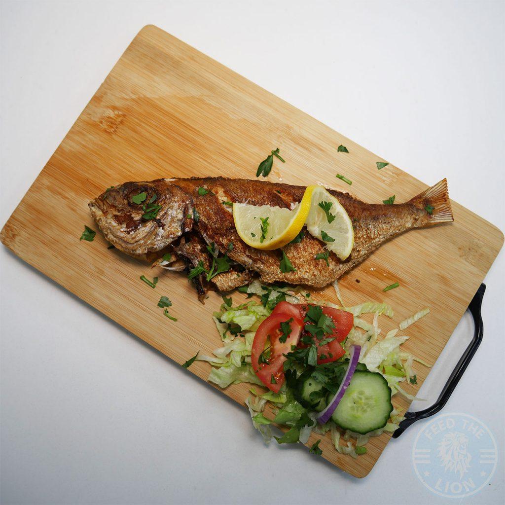 Every Fish Bar (Fish & Chips, Nigerian) - Harrow, London Pan Fried Snapper