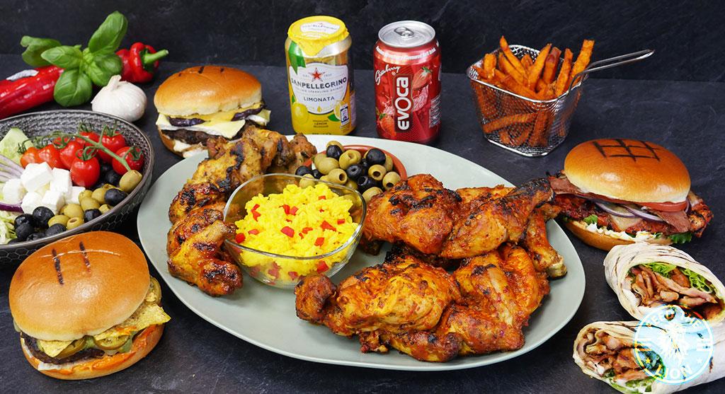 Flame Inn Halal Burgers Chicken London Restaurant Leyton