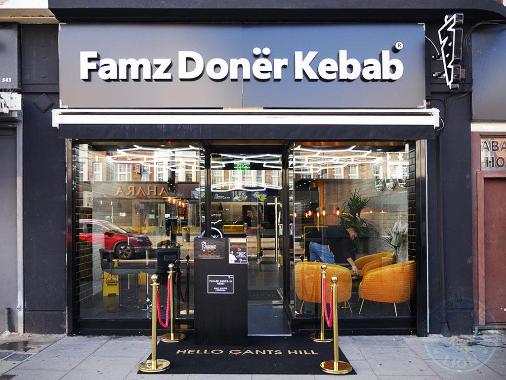 Famz Doner Kebab Halal restaurant Gants Hill Ilford