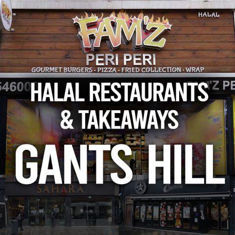 Famz Halal restaurants & takeaways in east London's Gants Hill