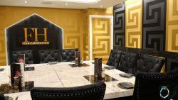 VIP room Farm House (British/Indian) Coventry Halal restaurant FARMHOUSE