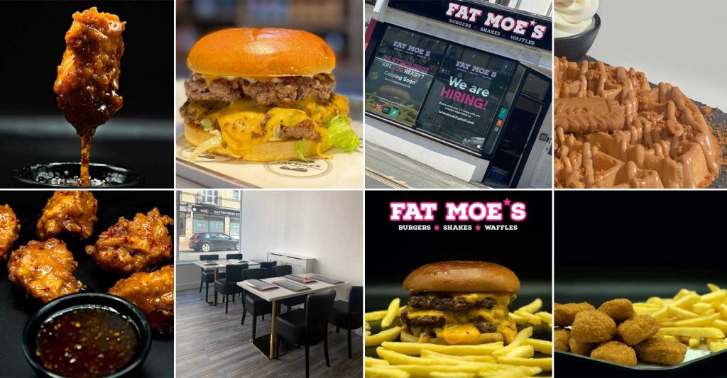 Fat Moe's Halal Burgers Restaurant Eastbourne