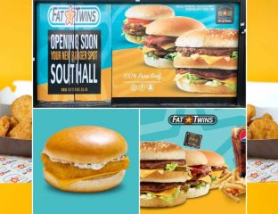 Fat Twins Halal McDonald's Burgers Restaurant Southall London