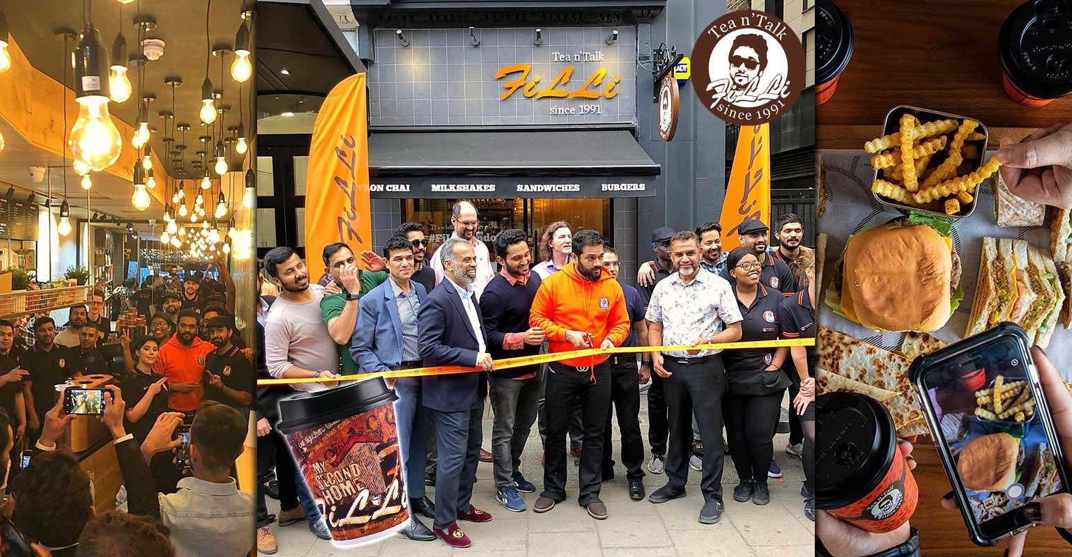 FiLLi Café makes European debut in London