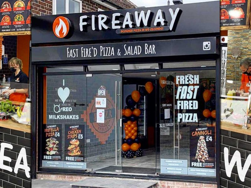 Fireaway Pizza Halal Itablian Coventry Restaurant