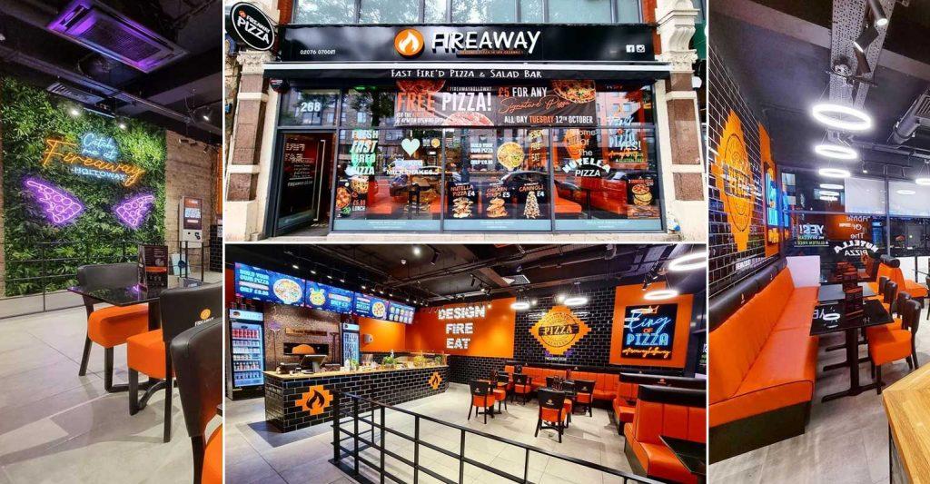 Fireaway PIzza Halal Italian Holloway London