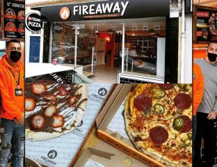 Fireaway Halal Italian Pizza Burnham-on-Sea Somerset