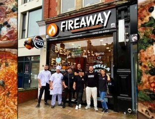 Fireaway Pizza Halal Restaurant Cardiff Wales