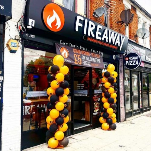 Fireaway Pizza Ilford London