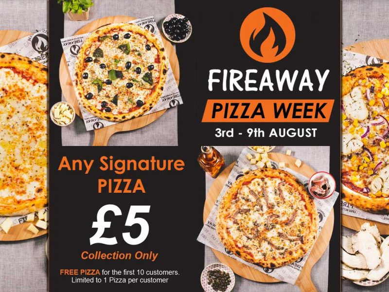 Fireaway Pizza Leyton London
