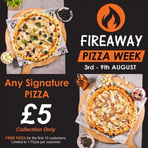 Fireaway Pizza Leyton London