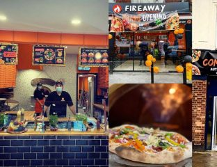 Fireaway Halal Pizza Restaurant Walthamstow London