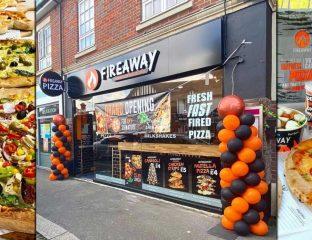 Fireaway Halal Pizza Restaurant Walton-on-Thames Surrey