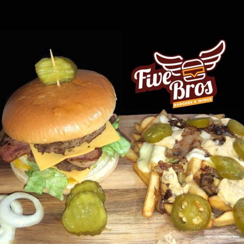 Five Bros East London Burgers Bethnal Green