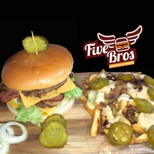 Five Bros East London Burgers Bethnal Green