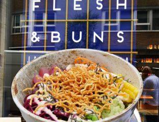 Flesh & Buns Japanese Oxford Street Halal restaurant