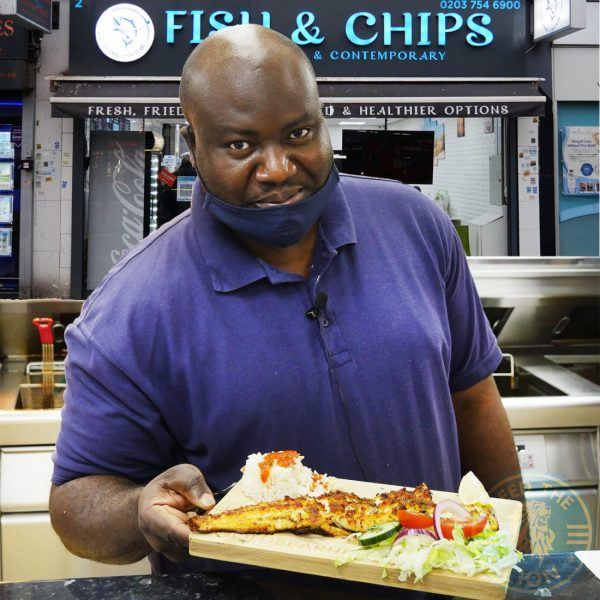Harrow Halal Fish & chips black Nigerian Muslim blm