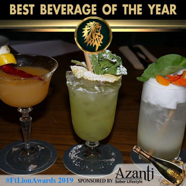 FtLionAwards 2019 Best Beverage Award
