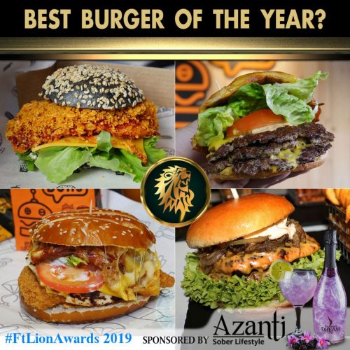 #FtLionAwards 2019 – Best Burger of the Year