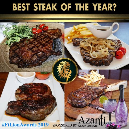 #FtLionAwards 2019 - Best Steak of the Year?