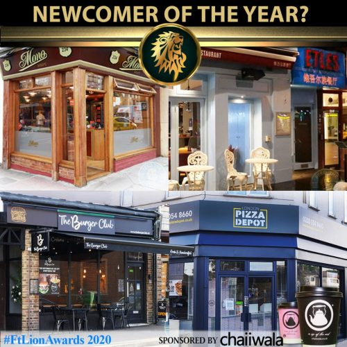 #FtLionAwards 2020 Newcomer of the Year shortlist