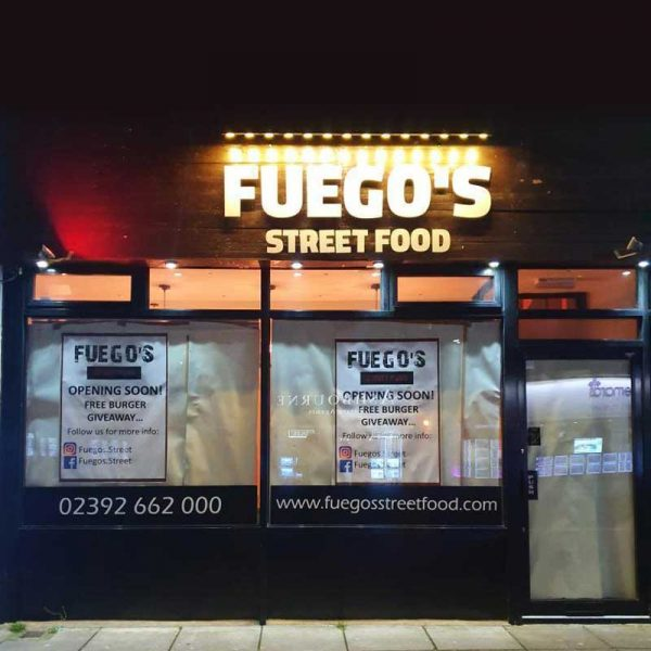 Fuego's Street Food Burgers Vegan Portsmouth